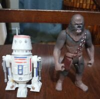 Kenner Star Wars Power of the Force R5 D4 1996 and Chewbacca 1995!