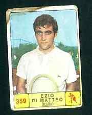 Figurina Campioni dello sport Panini 1968-69! N.359! Di Matteo! Tennis!!