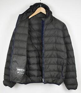 NORTH SAILS SUPER LIGHT DOWN Men's X LARGE Nylon Shell Hooded Jacket 33461-GS