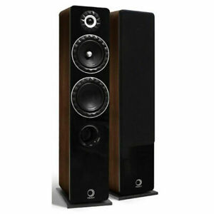 Elipson Prestige Facet 14F Floorstanding Speakers - Walnut (New)