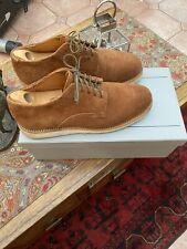 Viberg Sand Nubuck Roughout Service shoes size UK 8