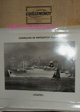 GRANDE PHOTO CNP Cie NAVIGATION PAQUET - LYAUTEY paquebot 1952-1965