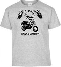 T-Shirt,  Honda Monkey,Pinup,Motorrad,Bike,Oldtimer,Youngtimer