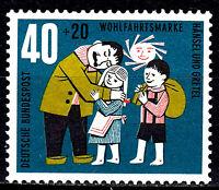 372 postfrisch BRD Bund Deutschland Briefmarke Jahrgang 1961