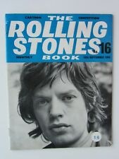 THE ROLLING STONES MONTHLY BOOK No 16   1965 ORIGINAL  ISSUE FANTASTIC CONDITION