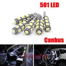 2 X ERROR FREE CANBUS W5W T10 501 LED SIDE LIGHT BULB 13 SMD LED BULBS