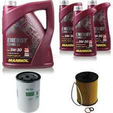 Paquete de inspección 8 l MANNOL energy combi ll 5w-30 + hombre filtro paquete 10935049
