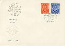 Ersttagsbrief Schweiz MiNr. 800-801 - Europa