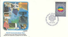 Canada Fdc Sc # 976 World Communications Year with Fleetwood cachet- Ww 7303