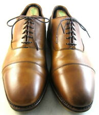"Allen Edmonds ""Bond Street"" Oxfords 10 D  Walnut Texture  (35)"