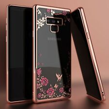 For Samsung Galaxy Note 9 Shockproof Luxury Crystal Bling TPU Clear Case Cover