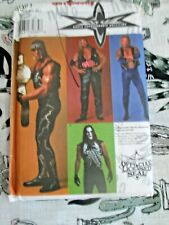 RARE SIMPLICITY SEWING PATTERN WRESTLING  WCW  NWO  SIZE S / XL FREE P+P