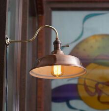 Vintage Industrial Copper shade Wall Lamp Retro Edison Wall Mount DIY Lighting