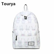 Fashion Women Rabbit Printing Backpacks School Bags Bookbag for Teenagers Girls