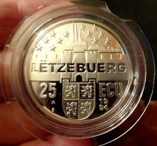 More details for luxembourg 1994 silver proof marie therese duchess of luxembourg 25 ecu