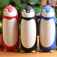 280ML Penguin Vacuum Insulated Stainless Steel Cup Bottle Thermos Travel Mug