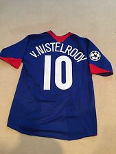 Manchester United away shirt 2005/06 Adults Medium (M) V. NISTELROOY 10 nike
