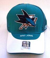 San Jose Sharks NHL Reebok Authentic Draft Headwear Mesh Trucker Hat Cap NEW