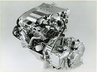0001OPE Opel ECOTEC V6 Motor Pressefoto 1992 21,5x16,5 cm press photo