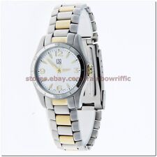ESQ Women's Watch 07101175 Aston Two Tone Gold Silver Stainless Steel Bracelet