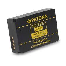 Batería Patona Lp-e12 Infochip para canon 100d y EOS m