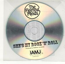 (EH551) The Fleeting Minds, She's My Rock N Roll - DJ CD