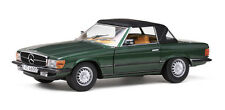 MERCEDES BENZ 350 SL CLOSED CONVERTIBLE 1977 MOOSGREEN SUNSTAR 4600 1/18 1:18