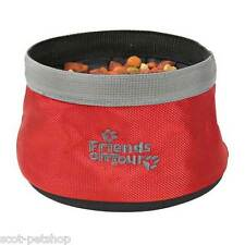Dog Travel Feeding Bowl By Trixie Friends On Tour | Dog Bowl 25131
