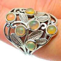 Ethiopian Opal 925 Sterling Silver Ring Size 8 Ana Co Jewelry R34817F