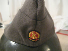 COLD WAR EAST GERMAN SUMMER ARMY OVERSEAS HAT WITH NVA PATCH