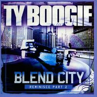 DJ TY BOOGIE Blend City Reminisce Pt.2 Old School Hip Hop Blends Mixtape Mix CD