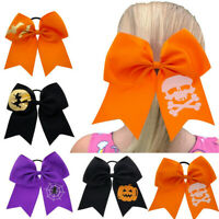 Halloween Children Big Bow Elastic Hair Ring Head Hoop Baby Girls Headband Gift