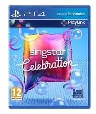SingStar Celebration PS4 PlayLink Game KARAOKE Singing Sony PlayStation 4 NEW