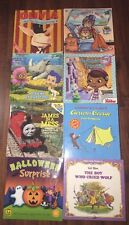 8 Pc Childrens Reading Book Mixed Paperback Lot Curious George Bubble Guppies