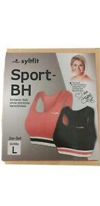 SPORT BH  Syltfit  2er-Set  Sport-BH  Gr. L