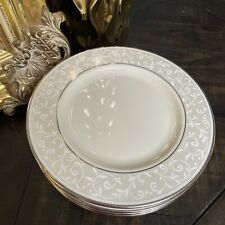 """Lenox Pearl Innocence 8"""" Salad Plate Set of 2"""