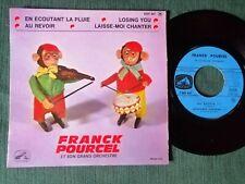 """FRANCK POURCEL En écoutant la pluie - Losing you 7"""" EP EGF 647 Photo INGI singes"""