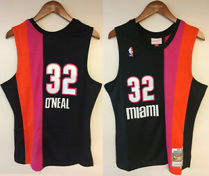 Shaquille O'Neal Miami Heat Mitchell & Ness NBA Authentic 2005 Jersey Floridians