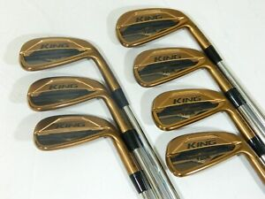2021 Cobra King Tour Copper MIM irons 4-PW $-Taper 120 Stiff iron set Rickie