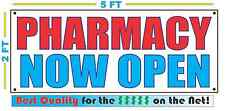 Pharmacy Now Open Banner Sign New Larger Size Best Quality for the $