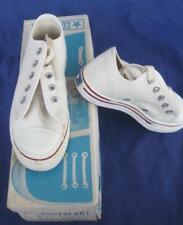 Vintage Converse USA Fast Break Youth White Oxford  Sneaker Size 12 70's Box NOS