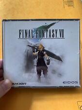 FINAL FANTASY VIIFinal Fantasy 7 PC Game - 4 X Disc - Good Condition - Retro