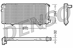 Denso Motor Kühler Für ein Peugeot 205 Cabrio 1.9