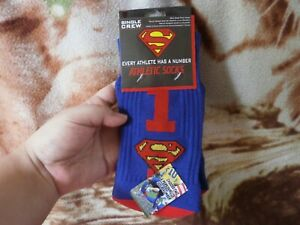BEST PRICE! Imported From USA! Single Crew Athletic Superman Socks #1