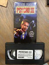 Psycho 3 Goodtimes VHS 1997 Anthony Perkins Horror Slasher