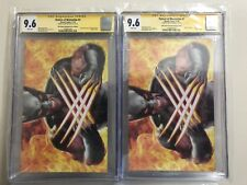 🔥2018 NYCC 🔥Return of Wolverine #1 CGC 9.6 SS Mike Mayhew X-Force Variant Excl