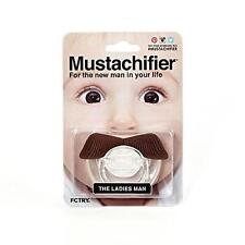 Mustachifier The Ladies Man Baby Mustache Pacifier Binkie Silicone BPA Free