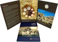 Malta Euro KMS 2016 Ggantija 1 Cent bis 2 Euro Münzzeichen Füllhorn im Folder