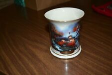 "Collectible Thomas Kincaide candle holder ""Evening at Swanbrooke Cottage"""