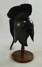 Stunning Trojan/Spartan Helmet & Display Stand - Troy/Greek/Gladiator 300 Movie
